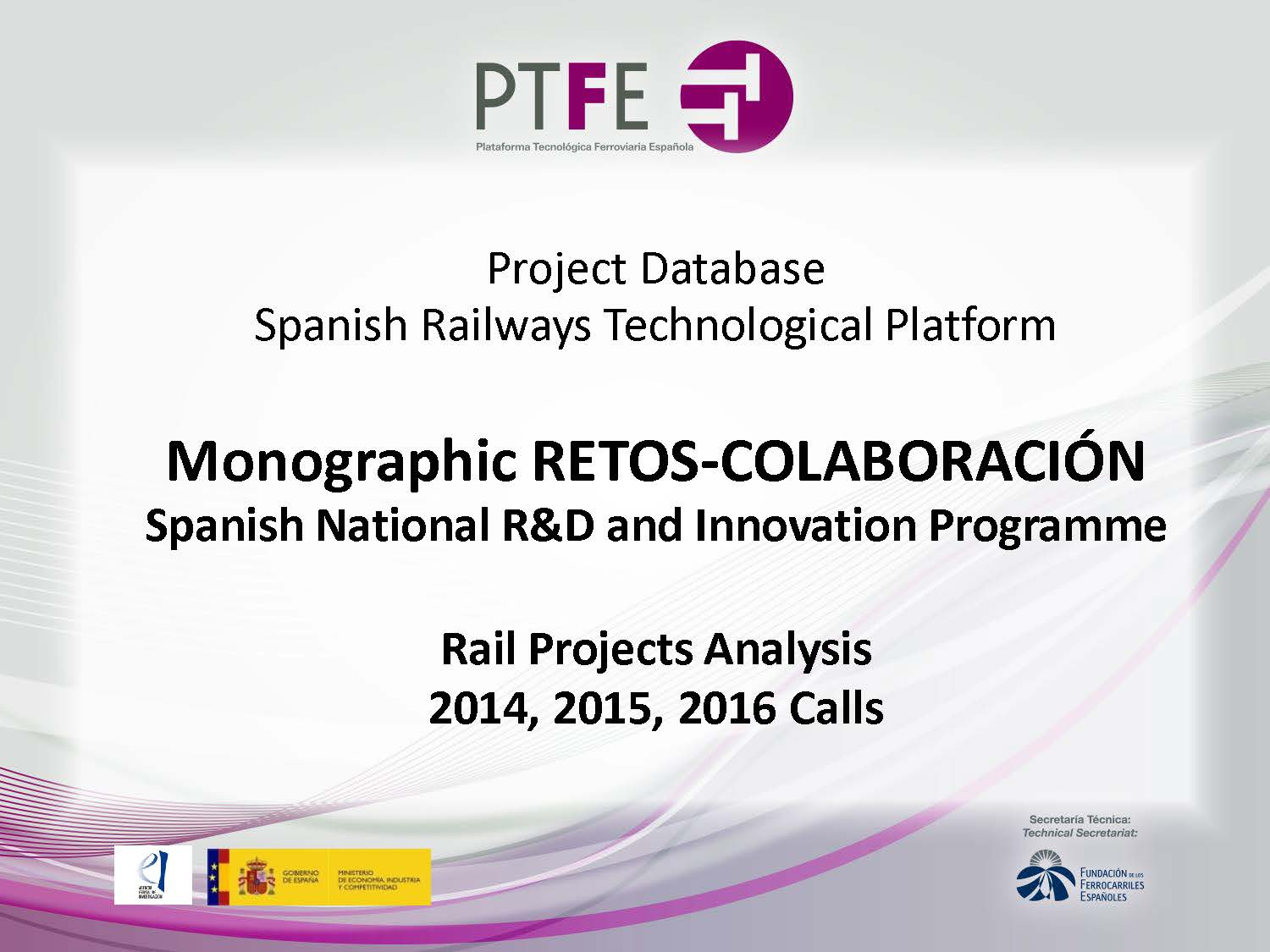 Monographic RETOS-COLABORACIÓN Spanish National R&D and Innovation Programme